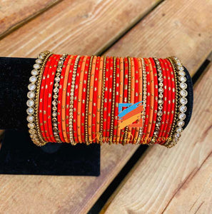 Bangle Set with Polki Kadas