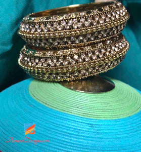 Golden Bangle Kada Small Size