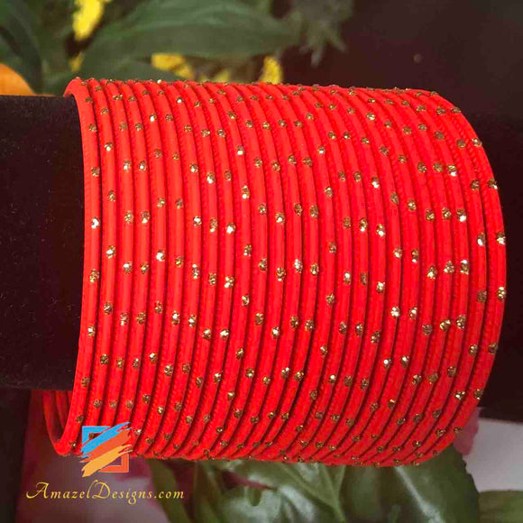 Red Bangles 2.6 in