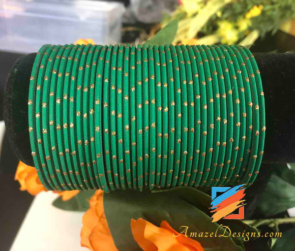 Green Bangles 2.6 in