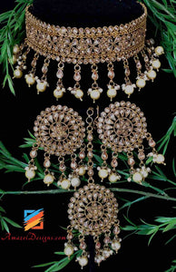 Indian Bridal Jewellery Sets Polki Choker