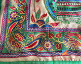 Kantha Chanderi Traditional Dupatta