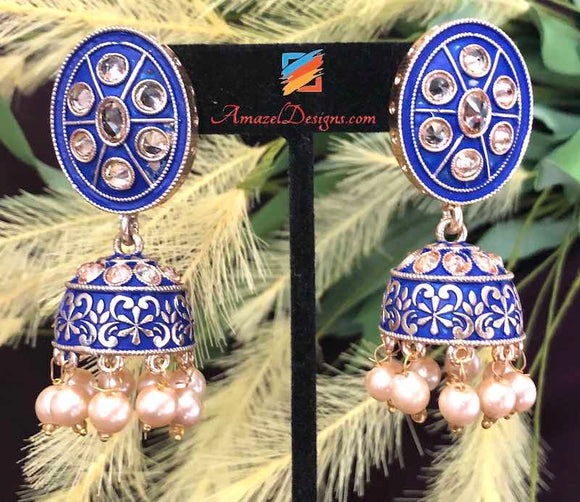 Indian Earrings - Multiple Colors