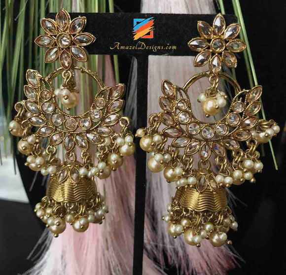 Indian Earrings Jhumki