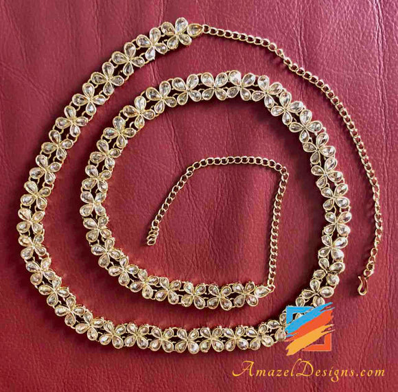 Indian Gold Waist Chain Designs