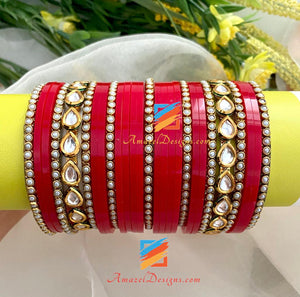Kundan Beads Bangle Choorah