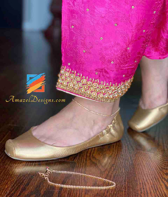 Golden Payal Design