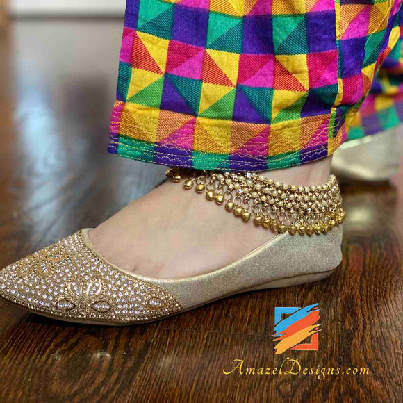 Anklets with Bells Payal with Ghungroos