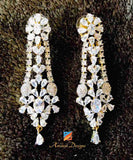 Shiny American Diamond (AD) Earrings