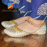 Gold Anklets Payal Jewelry