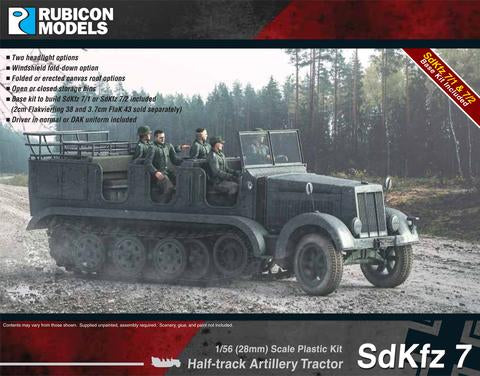 Rubicon SdKfz 7 Halftrack