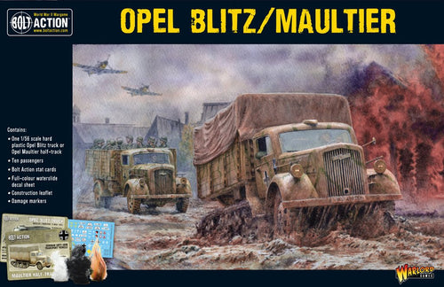 German Opel Blitz or Maultier