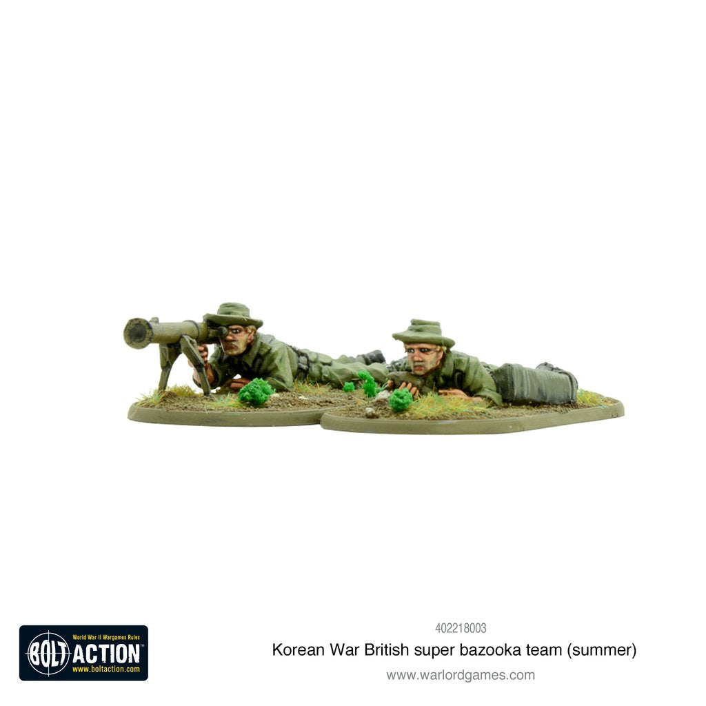 Korean War British super bazooka team (summer)