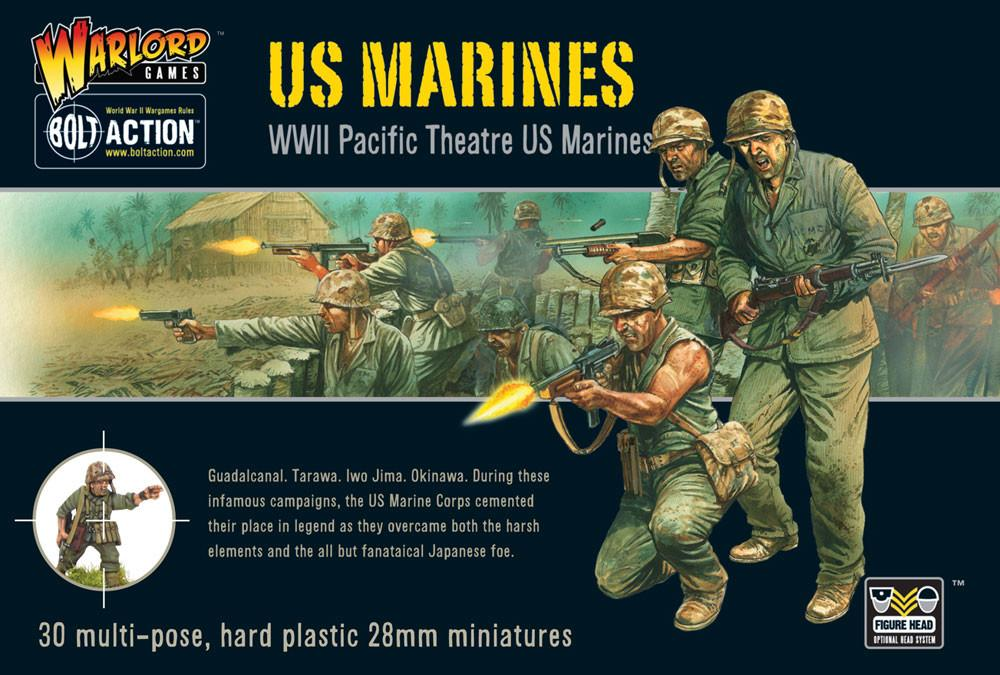 US Marines plastic box set