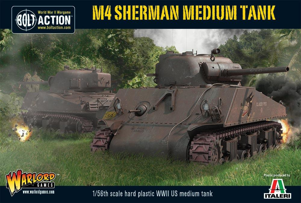 M4 Sherman medium tank (plastic