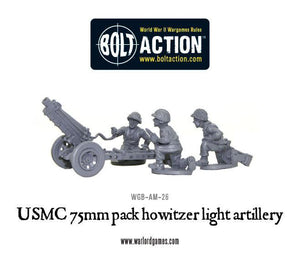 USMC 75mm pack howitzer light artillery