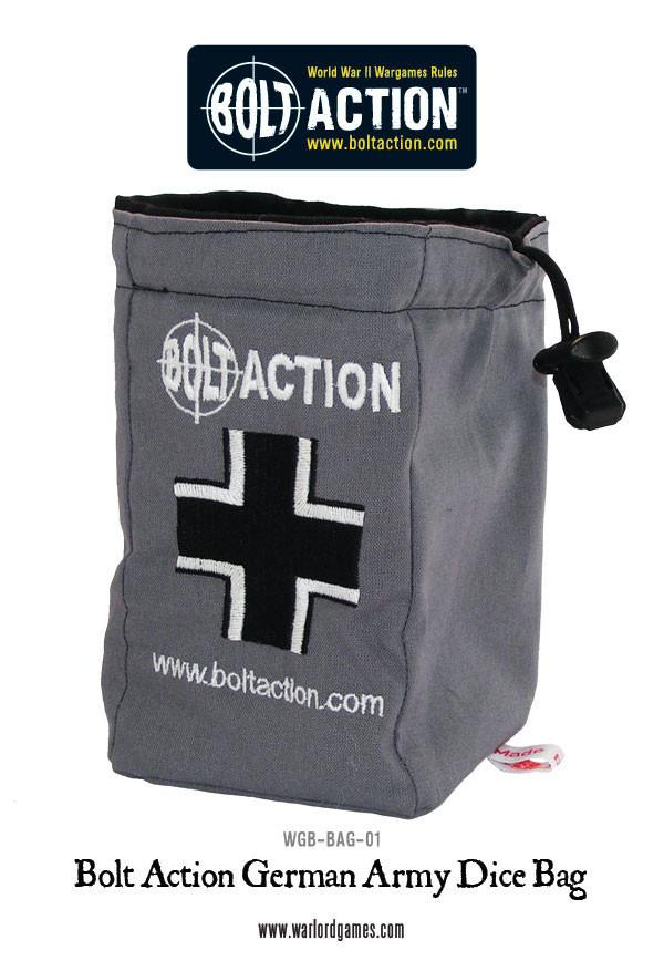 Bolt Action German Army Dice Bag & Dice