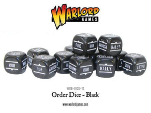 Order Dice Black - Pack