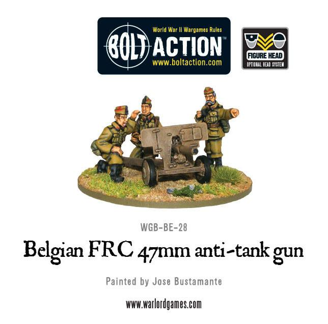 Belgian FRC 47mm anti-tank gun