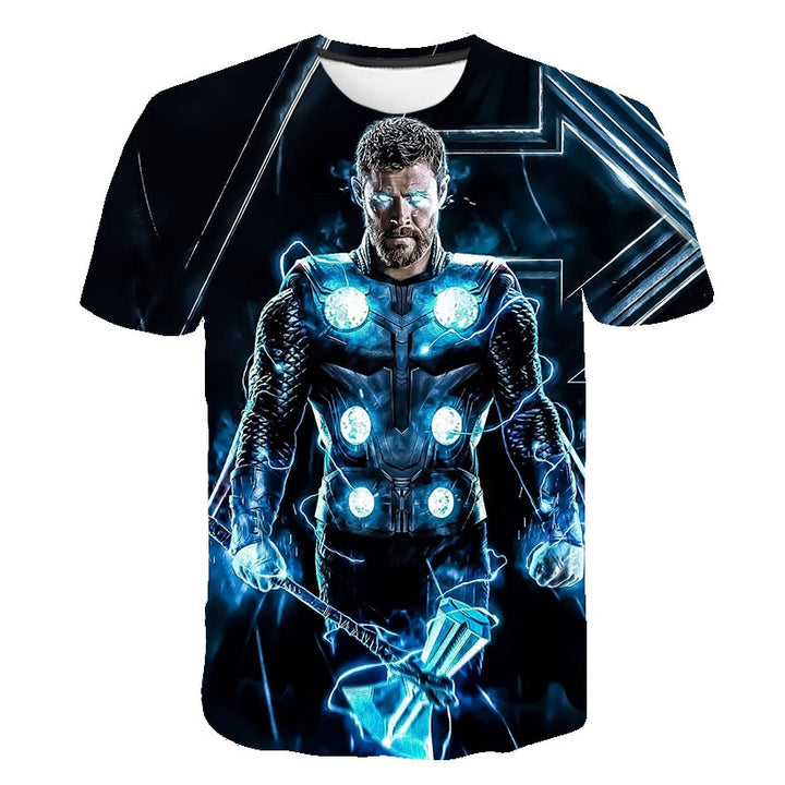 3D Super Hero Avengers T-shirt