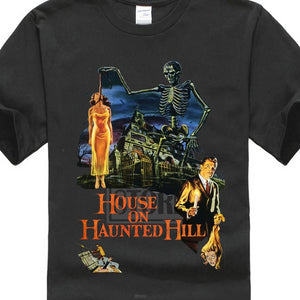 House On Haunted Hill Vincent Tshirt