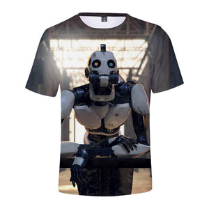 Love Death Robots 3D Print T-Shirt