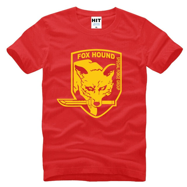 MGS Fox Hound Video Game T Shirt
