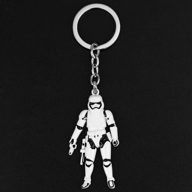 Metal Keychain Star Wars Jewelry Storm Trooper Key Chain