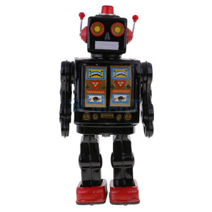 Mechanical Walking Robot Tin Toy Collectibles