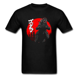 Gojira Movie Printing T Shirt --- Big Bang Theory