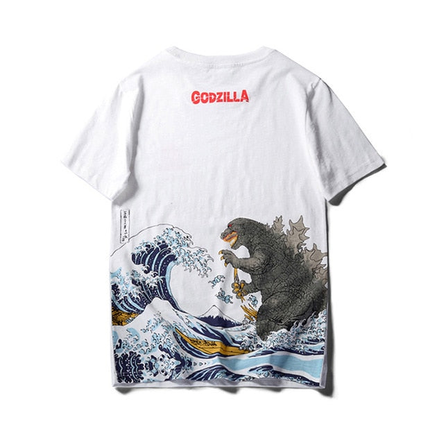 Japanese Tide Men's Cotton T-shirt