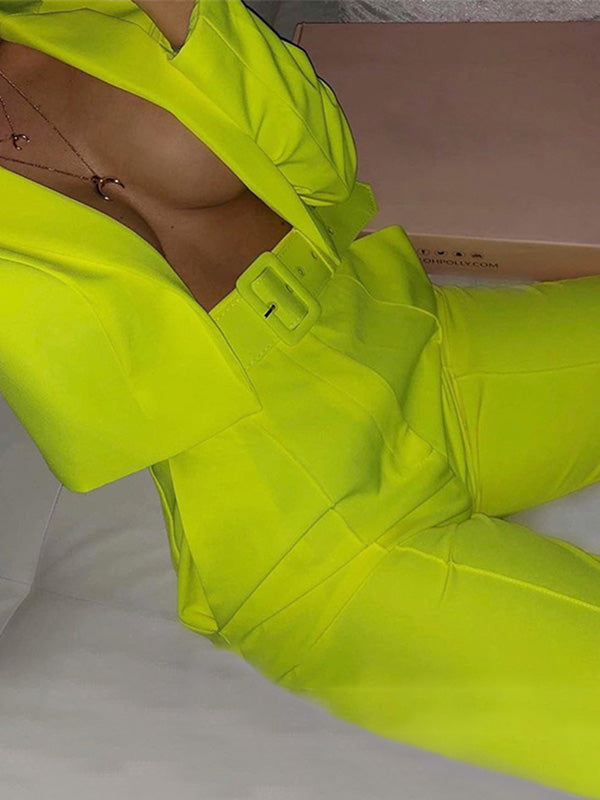 Forbes 500 Power Neon Suit