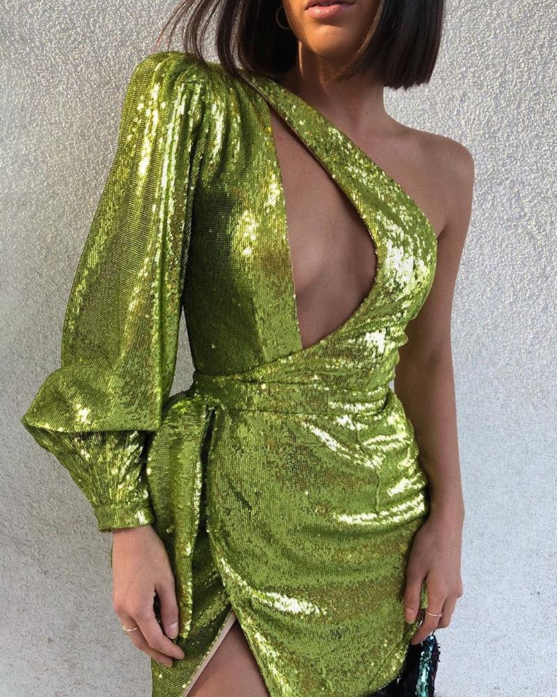 Poison Ivy Sequin Dress