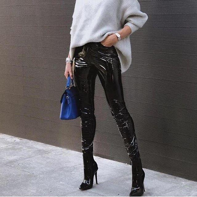 New Hubby PU Leather Pants