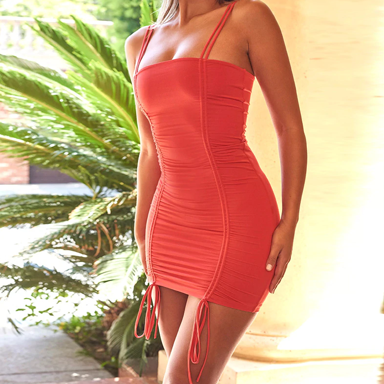 Cabo Nights Neon Mini Dress