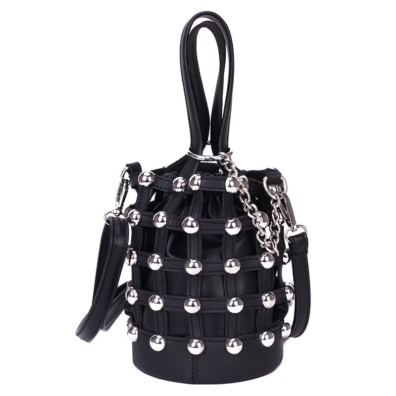 The Bucket Rivet Handbag