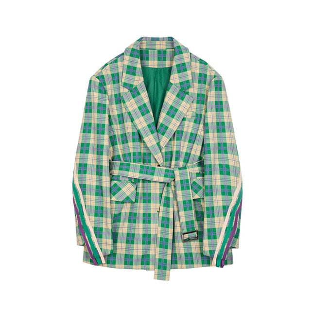 Envy Green Plaid Jacket