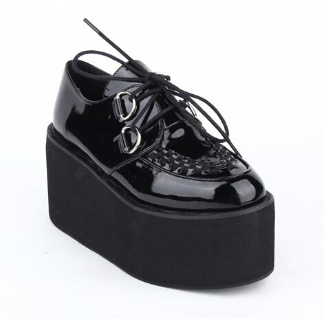 Professional Stomper PU Leather Creepers