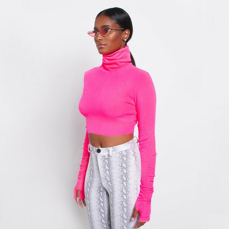 Fundamental Neon Long Sleeve Top