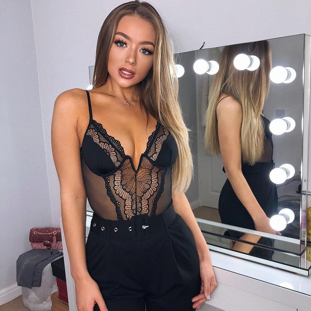 Lacey Obsession Bodysuit