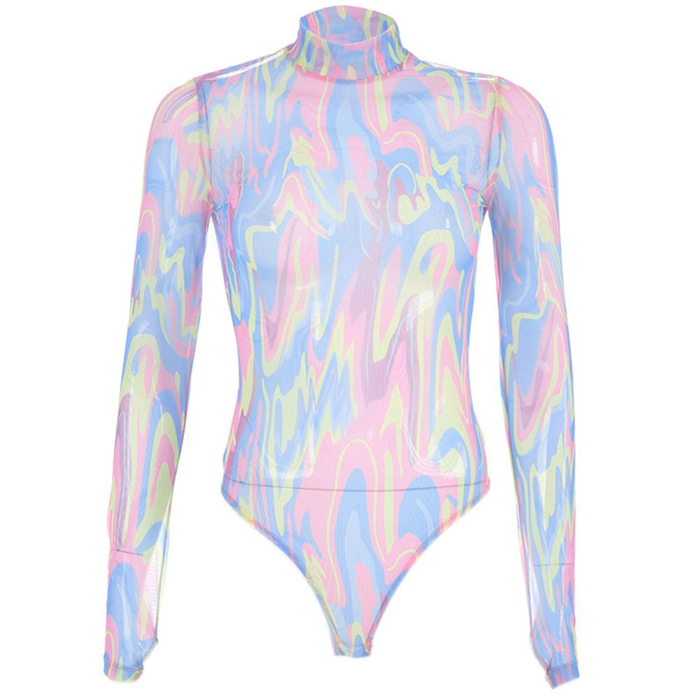 Psychedelic Truths Mesh Bodysuit