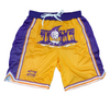 Purple & Gold Evolve Drip Shorts