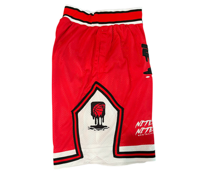 Red Evolve Drip Shorts