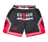 Black Evolve Drip Shorts
