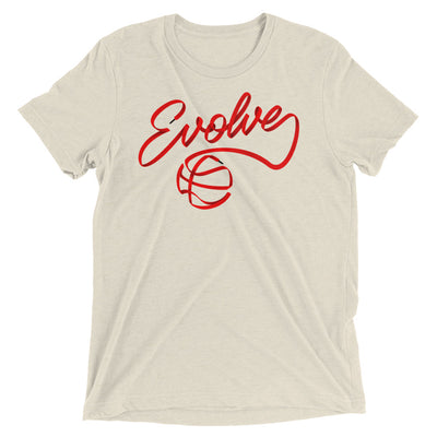 Red Evolve Shoestring Black Tips T-Shirt