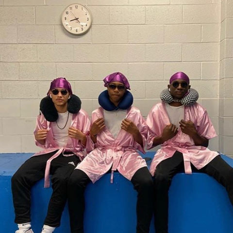 Drippy Rags   Group of boys with waves and durags