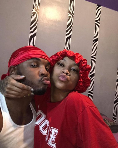 DrippyRags   Couple wearing durags   Durags