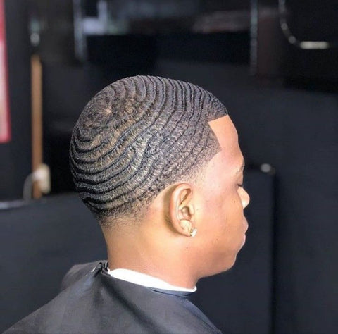 Drippy Rags Man with course waves