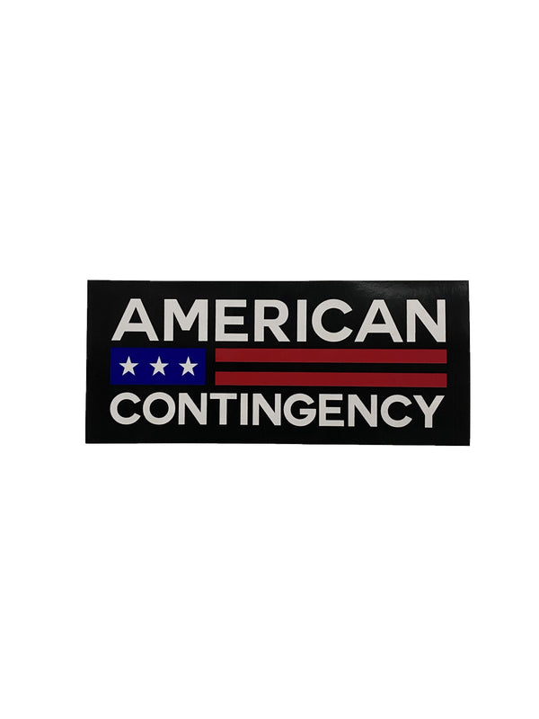 American Contingency Sticker