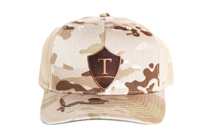 Overland Training Logo MULTICAM ARID Snap Back Hat